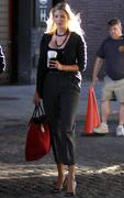 Ivanka Trump - Set of Gossip Girl in NYC 08/30/10