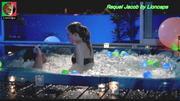 Raquel Jacob sensual no filme Refrigerantes e Canções de amor