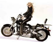 Jennifer Ellison - Harley Davidson Photoshoot