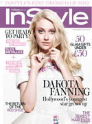 Dakota Fanning - InStyle UK - Dec 2012 (x16) + Video