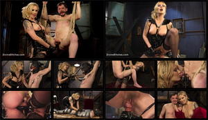 DIVINE BITCHES: Jan 01, 2016 - Maitresse Madeline Marlowe and Slave Fluffy