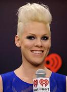 Pink - IHeartRadio music festival in Las Vegas 09/22/12